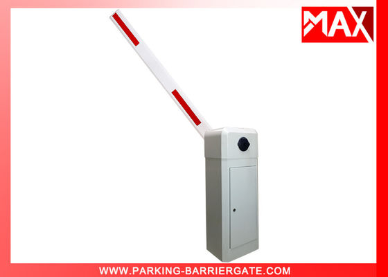 Clutch Device Parking Barrier Gate 1 - 6 Meters Aluminum Alloy Straight Arm